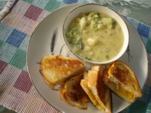 broc cheese soup