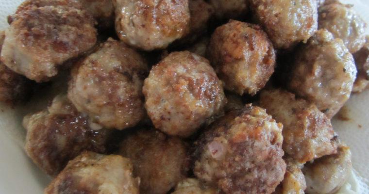 Grandpa's Meatballs