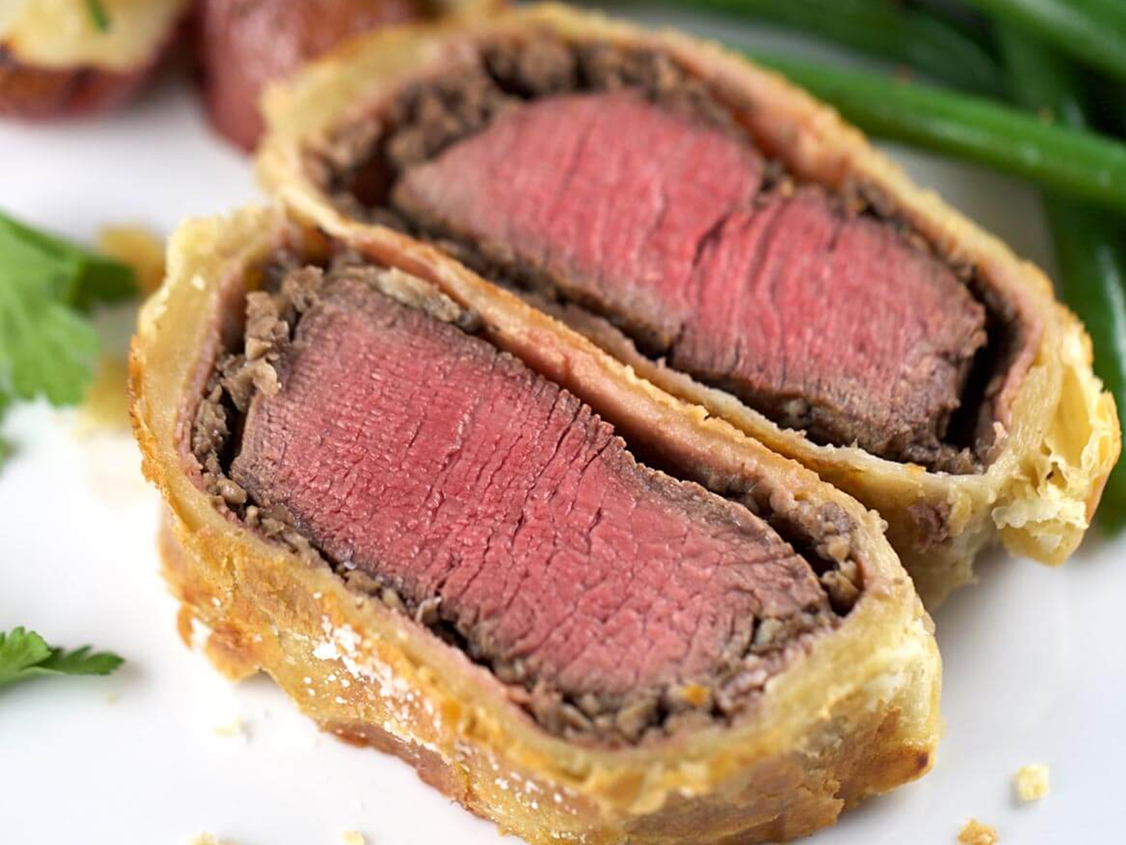 Beef in Filo