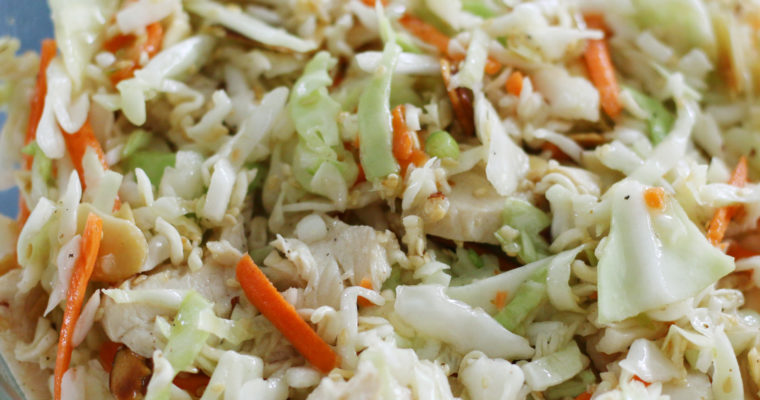 Chinese Coleslaw with Chicken