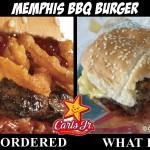 Memphis BBQ Burger