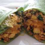 St. Patrick's Day Breakfast Burrito