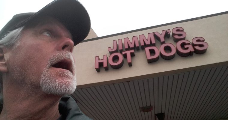 Time for a Jimmy's Hot Dog