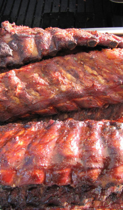 Captain Hank's Southern Style Ba-Be-Q Pork Ribs